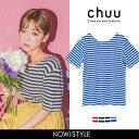 CHUU(チュー)CHUUボーダーTシャツ【5/23up_w...