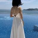 BRANDI(ブランディ)バックストラップワンピース【6/26up_go】韓国 韓国ファッション バックストラップ ワンピース 夏 リゾート フレア インスタ インスタファッション SNSレディース ファッション【あす楽】