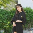 SONYUNARA(ソニョナラ)トレーニングセット【7/8up_wo】韓国 韓国ファッション セットアップ トレーニング 半袖ショートパンツセット 夏 夏休みレディース ファッション【5】