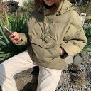 NANING9(ナンニング)パディングアノラック【12/5up_go】【送料無料】韓国 韓国ファッション アノラック 冬 アウトドア アウター カジ..
