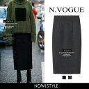 N.Vogue(エヌヴォーグ)ウールロングスカート【10/20up