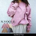N.Vogue(エヌヴォーグ)シンプルトレーナー【3/18u...