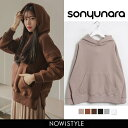 【SALE】SONYUNARA(ソニョナラ)DALDALフーディ【11/20up_r】韓国 韓国ファッション