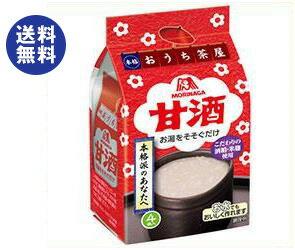 【送料無料】森永製菓 甘酒 4袋×10袋入 ※北...の商品画像