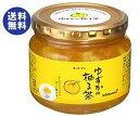 【送料無料】キッコーマン ゆずかの柚子茶 580g瓶×12本入 ※北海道・沖縄は別途送料が必要。