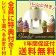 【在庫有】\ページ限定・マジッククロス付/ ブランシェ アイスクリームメーカー blanche 【送料無料・レシピ付・保証付】【ソフトクリームメーカー ブランシェ WGSM892】 自宅でソフトクリームが作れる機械