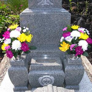 枯れない墓前花 2本セット 10198 【送料無料】 [墓前