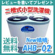 二槽式洗濯機【送料無料】【二槽式小型洗濯機 NEW 晴晴 AHB-02】アルミス ALUMIS 小型洗濯機 2槽式 2層式