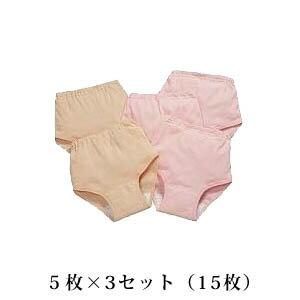 【在庫あり】失禁パンツ 送料無料 【快適やすらぎパンツ 同サイズ5枚組】軽失禁パンツ3個の通販