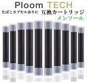 プルームテック 互換 カートリッジ ロング 増量 メンソール 10本セット PloomTECH 電子タバコ