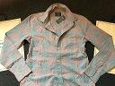 【期間限定値下げ中】【送料無料】【新品】アバクロ【Mensメンズ】ボタンダウンチェックシャツ(長袖)/Grey And Pink【Abercrombie&Fitch】【本物保証】