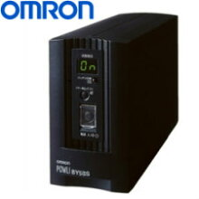 オムロン無停電電源装置(常時商用給電/正弦波出力)500VA/300WBY50S