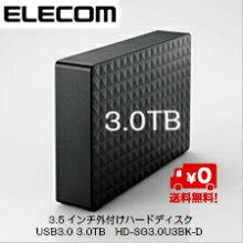 ���쥳��3.5��������դ��ϡ��ɥǥ�����USB3.03.0TBHD-SG3.0U3BK-D