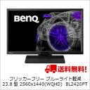 (単品限定購入商品)【送料無料】ベンキュー フリッカーフリー ブルーライト軽減 23.8型 2560x1440(WQHD) 液晶ディスプレイ BL2420PT