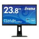 (単品限定購入商品)【送料無料】iiyama 23.8型ワイド液晶ディスプレイ ProLite XB2481HSU (AMVA、LED、昇降スタンド付) マーベ...