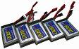 【ラジコン ヘリコプター】WALKERA ワルケラ用 / リポバッテリー 3.7V 30C 600mAh ×5【送料無料】