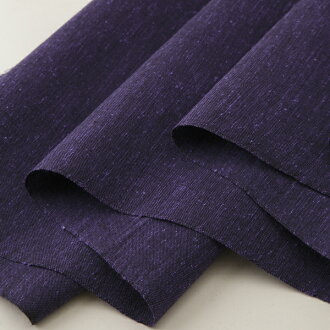 Plain fabric pongee Murasaki Edo cut selling