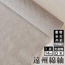 遠州綿紬 S-55 -薄(すすき)- 木綿反物