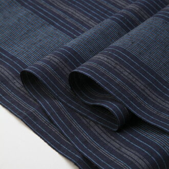 Stripe pongee S-12 - sea breeze (sea cold) - cut selling