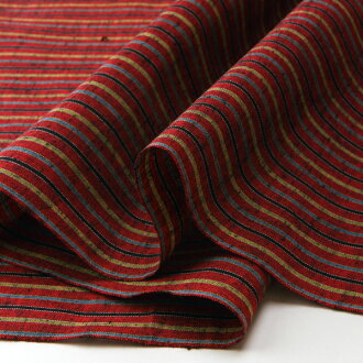 S-2 stripe silk - autumn (kinnshuu) - cut up for sale