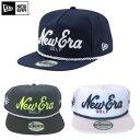 ニューエラ 2016 THE GOLFER SCRIPT 10 SNAPBACK CAP US仕様 【NEWERA ゴルフ golf  帽子 HAT キャップ】