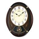セイコークロック SEIKO からくり時計 掛け時計 電波時計 壁掛け・メロディ セイコー掛け時計 セイコーからくり時計 セイコー電波時計 AM248B ウエーブシンフォニー おしゃれ【あす楽対応】【送料無料】