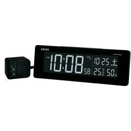 セイコークロック SEIKO 目覚まし時計 置き時計 電波時計 DL205K シリーズC3 デジタル セイコー目覚まし時計 セイコー置き時計 セイコー電波時計 表示色が選べる 温度計 湿度計 おしゃれ【あす楽対応】【送料無料】