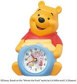 セイコークロック SEIKO ディズニー キャラクター 目覚し時計 置き時計 FD463A セイコー目覚し時計 セイコー置き時計 ディズニー プーさん くまのプーさん おしゃべり 音量切替 おしゃれ かわいい【Disneyzone】 【あす楽対応】