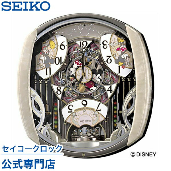 セイコークロック SEIKO ディズニー 掛け時計 壁掛け からくり時計 電波時計 FW5…...:nuts-seikoclock:10000099