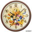 セイコークロック SEIKO ディズニー 掛け時計 FW569B セイコー掛け時計 ディズニー ミッキー ミニー ミッキー&フレンズ スイープ 結婚祝い&内祝い おしゃれ かわいい【Disneyzone】【あす楽対応】