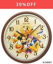 セイコークロック SEIKO ディズニー 掛け時計 FW569B セイコー掛け時計 ディズニー ミッキー ミニー ミッキー&フレンズ スイープ 結婚祝い&内祝い...