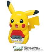 セイコークロック SEIKO キャラクター 目覚まし時計 置き時計 JF373A セイコー目覚まし時計 セイコー置き時計 ピカチュウ ポケットモンスター ベストウイッシュ 音声 おしゃれ かわいい【あす楽対応】