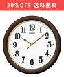 【送料無料】 セイコー SEIKO 掛け時計 KX338B 電波時計 スイープ 自動点灯ライト 【あす楽対応】