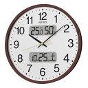セイコークロック SEIKO 掛け時計 電波時計 KX370B セイコー掛け時計 セイコー電波時計 カレンダー 温度計 湿度計 おしゃれ【あす楽対応】【送料無料】