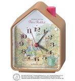 セイコークロック ピーターラビット 目覚まし時計 置き時計 CE511B セイコー目覚まし時計 セイコー置き時計 スイープ 鳥の鳴き声 音量調節 おしゃれ【あす楽対応】