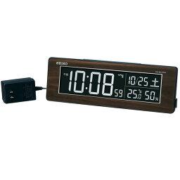 セイコークロック SEIKO 目覚まし時計 置き時計 電波時計 DL210B シリーズC3 デジタル セイコー目覚まし時計 セイコー置き時計 セイコー電波時計 表示色が選べる 温度計 湿度計 おしゃれ あす楽対応【送料無料】