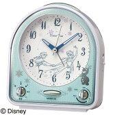 セイコークロック SEIKO キャラクター 目覚し時計 置き時計 FD475W セイコー目覚し時計 セイコー置き時計 ディズニー アナと雪の女王 スイープ ライト付 12シーンのセリフによるアラーム おしゃれ かわいい【Disneyzone】 【あす楽対応】