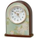 セイコークロック SEIKO 目覚まし時計 置き時計 QK736L セイコー目覚まし時計 セイコー置き時計 おしゃれ【あす楽対応】【送料無料】