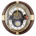 セイコークロック SEIKO 掛け時計 壁掛け からくり時計 RE816B セイコー掛け時計 壁掛け セイコーからくり時計 メロディ おしゃれ【あす楽対応】【送料無料】