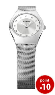 Bering BERING ladies watch 11923-000 classic carving mesh Swarovski SS mesh belt genuine | watch fashion watch or women watch