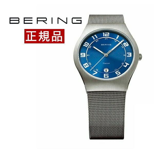 【抽選でデンマーク製品が当たる!】ベーリング BERING メンズ 腕時計 11937-078 ウルトラスリムチタニウム SSメッシュベルト 正規品 送料無料 腕時計 おしゃれ カジュアル 男性 ウォッチ【対応】 腕時計  腕時計 【ポイント10倍!】