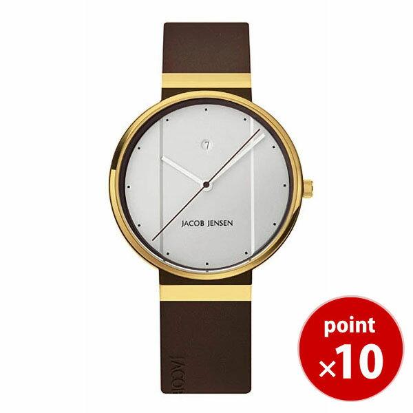 ヤコブ・イェンセンJACOB JENSEN New メンズ 腕時計 758 シリコンラバーベルト 【正規品】【送料無料】 【ポイント10倍!】