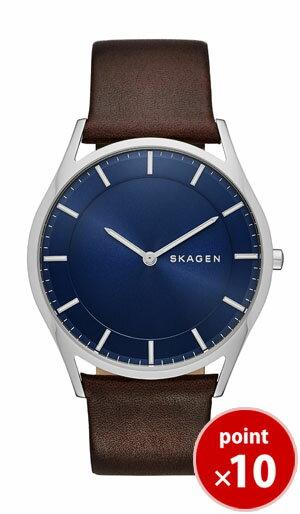 【今だけ10%Off~4/16まで】スカーゲン SKAGEN メンズ HOLST 腕時計 SKW6237 Leather Mens レザーベルト【正規品】【送料無料】 腕時計  腕時計 【ポイント10倍!】
