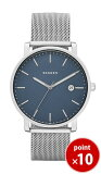 スカーゲン SKAGEN メンズ HAGEN Scandinavian Blue 腕時計 SKW6327 Steel Mens メッシュベルト 【正規品】【送料無料】