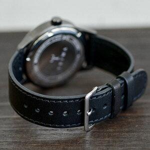 【20140905】トリワTRIWAメンズ・レディース兼用腕時計HVALENHVST101-SC010112カレンダーグレーケースブラックレザーベルト【あす楽対応】【正規品】【送料無料】【楽ギフ_包装】