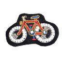 【2015新入荷】ザリ刺繍のピンバッジ 自転車 BICYCLE フィルダレニエ Fil D'areignee インド製 H.P.FRANCE アッシュペーフランス 【あす楽対応】【正規品】
