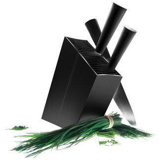 Eva 獨奏 Ebersol 刀站刀座棱形黑色 515290 北歐丹麥北歐設計小玩意內政