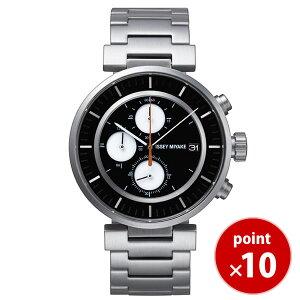 【送料無料】イッセイミヤケISSEYMIYAKEメンズ腕時計SILAY001和田智Wダブリュカレンダークロノグラフメタルベルト