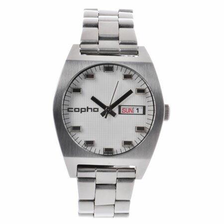 コプハ copha メンズ 腕時計 Kult-1401【カルト Kult】デイデイト メタルベルト ホワイトXシルバー【正規品】【送料無料】 腕時計  腕時計