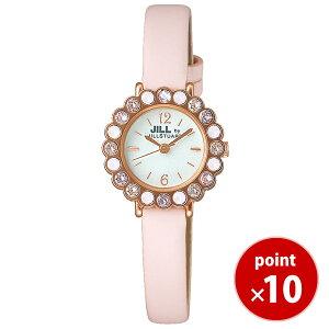 【最新作】ジルバイ ジルスチュアート JILL by JILLSTUART 腕時計 ドレスミーアップ NJAM003 ピンクゴールドカラー カーフベル・・・